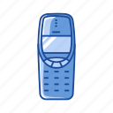 cell, cell phone, phone, telephone icon
