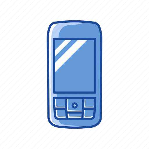 cell phone, mobile phone, old phone, phone icon
