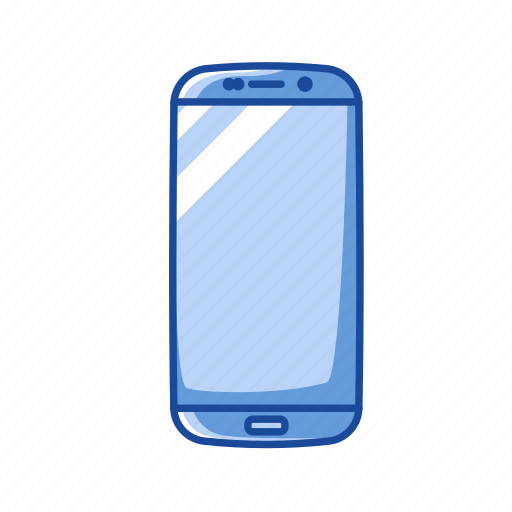 android, phone, samsung edge, smartphone icon