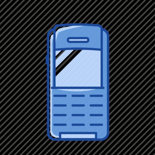 keypad phone, old phone, phone, text icon