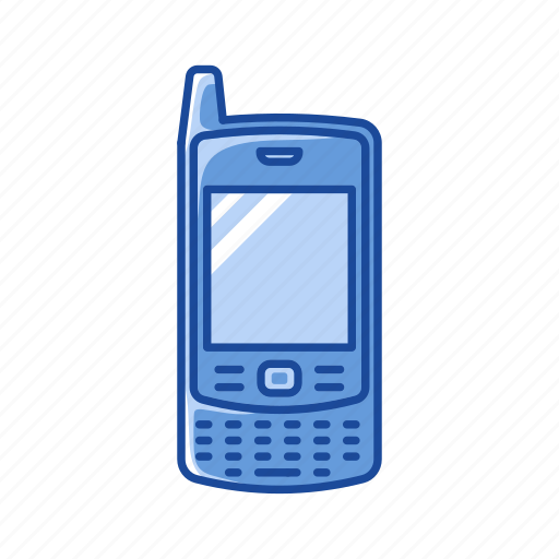 Keypad phone, blackberry, cell phone, phone icon - Download on Iconfinder