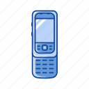 keypad phone, sliding phone, phone, cell phone
