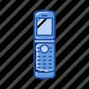 flip phone, telephone, phone, cell phone