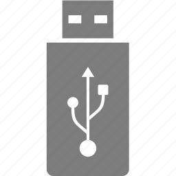device, flash, memory, usb icon