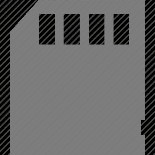 card, device, electronics, memory icon