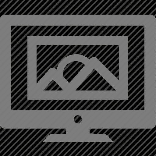 camera, image, monitor, photo, picture icon