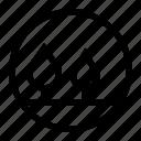 circle, eye, fish, image, painting, panorama, picture icon