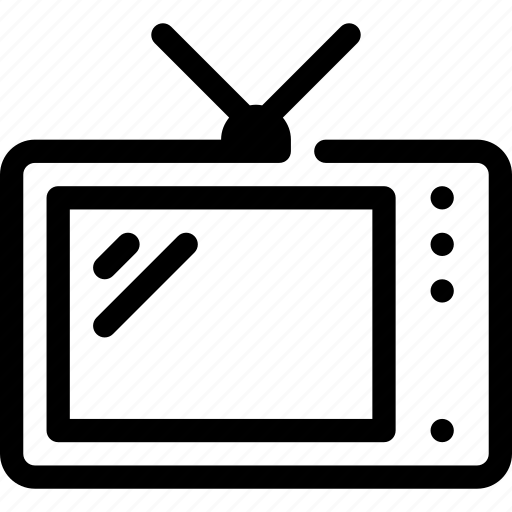 cinema, movie, screen, television, tv, video, watch icon