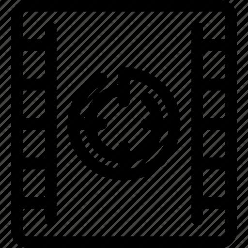 Cinema, countdown, film, movie, start, video icon - Download on Iconfinder