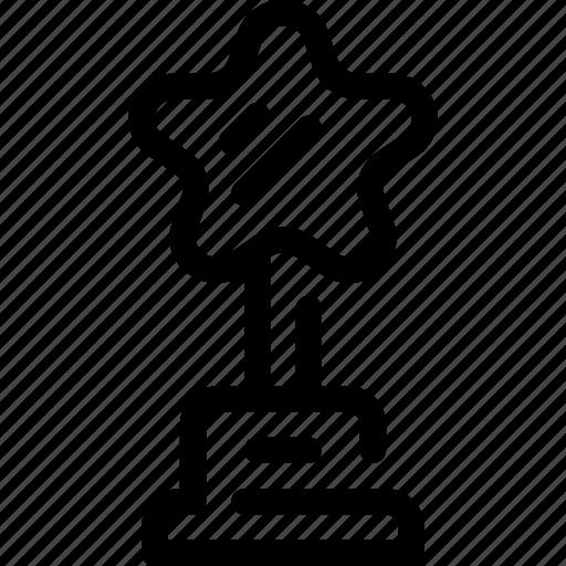 Award, best, cinema, nomination, prize, star, trophy icon - Download on Iconfinder