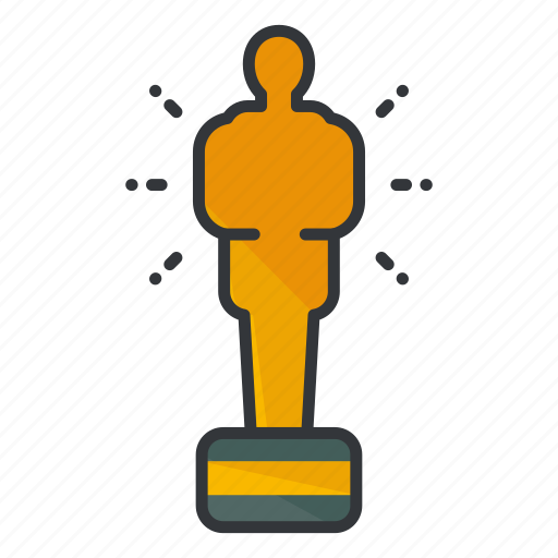 award, awards, entertainment, movie, oscar icon