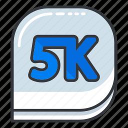 camera, five, k, photo, ui, video icon
