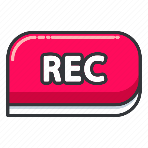interface, photo, rec, record, ui, user, video icon