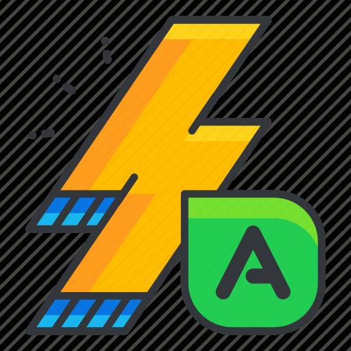 auto, automatic, camera, flash, interface, ui, user icon