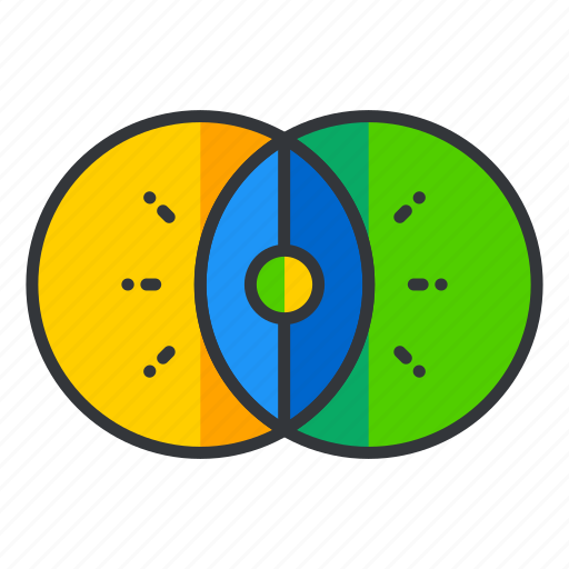 color, interface, palette, photo, ui, user, video icon