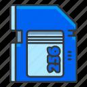 card, media, memory, photo, video icon
