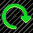 arrow, photo, rotate, ui, video
