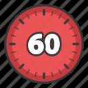 degrees, photo, scale, sixty, ui, video icon