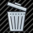 bin, interface, rubbish, trash, ui, user