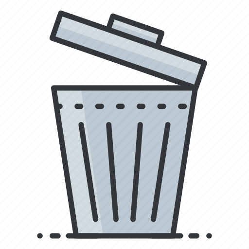 bin, interface, rubbish, trash, ui, user icon