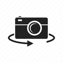 camera, cameras, flash, invert, lens, photo, photography, photos, picture, video icon