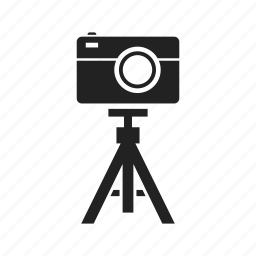camera, flash, lens, photo, photography, photos, picture, tripod icon