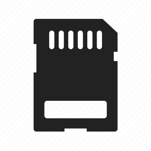 card, disck, electronic, memory, microsd, photodevice icon