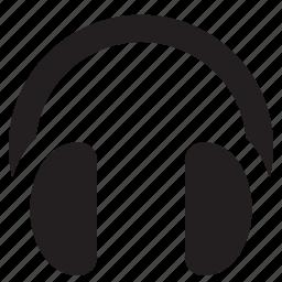 audio, headphones, music, sound, speaker icon