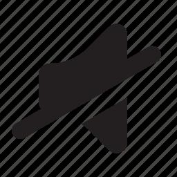 audio, mute, sound, speaker, volume icon