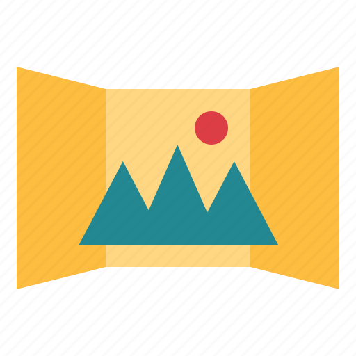 Horizontal, landscape, panorama, photograph icon - Download on Iconfinder