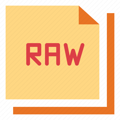 archive, document, format, raw icon