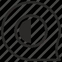 chart, comment, contrast, half, message, part