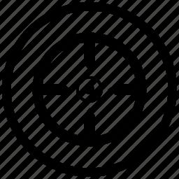 aim, atm, function, shoot, target icon