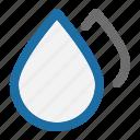 blur, drop, editing, photo, studio, water icon