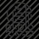building, city, landmark, location icon