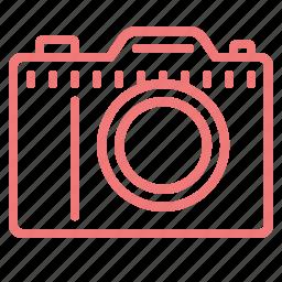 camera, divece, lens, photo, photography, slr camera icon