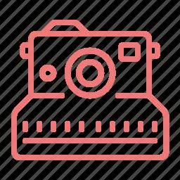 camera, device, image, photo, picture, polaroid icon