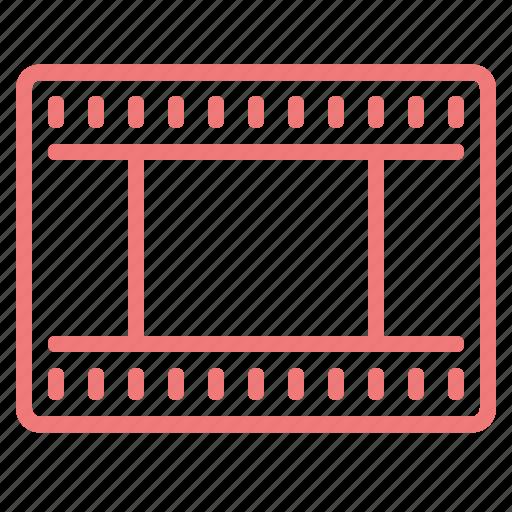 film, frame, movie, tape, video, videotape icon