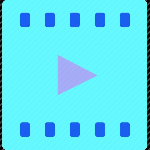 Cinema, film, logo, media, movie, play, video icon - Download on Iconfinder