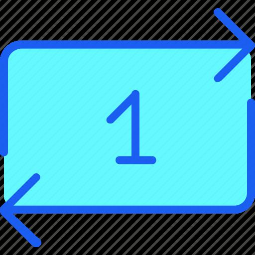 audio, film, media, music, repeat one, sound, video icon