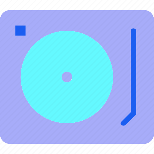 Audio, instrument, media, multimedia, music, player, turntable icon - Download on Iconfinder