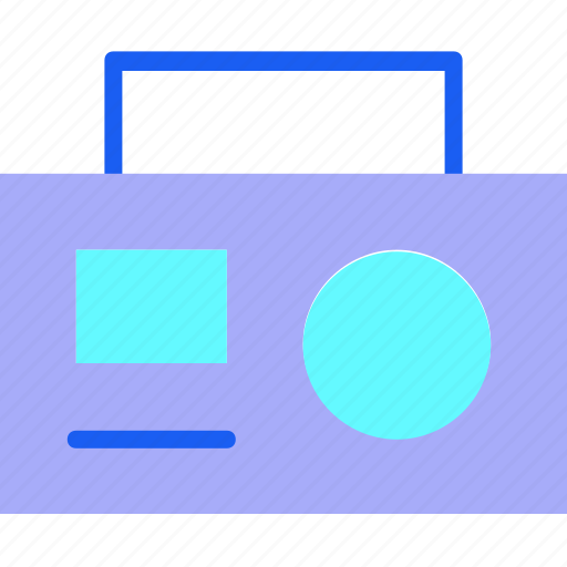 Audio, logo, media, multimedia, music, radio, speaker icon - Download on Iconfinder