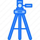 camera, photo, photographer, shooting, studio, tripod icon
