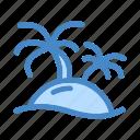 beach, coconut tree, island, palm, summer