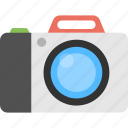 digital device, electronic equipment, flash camera, photography, retro camera icon