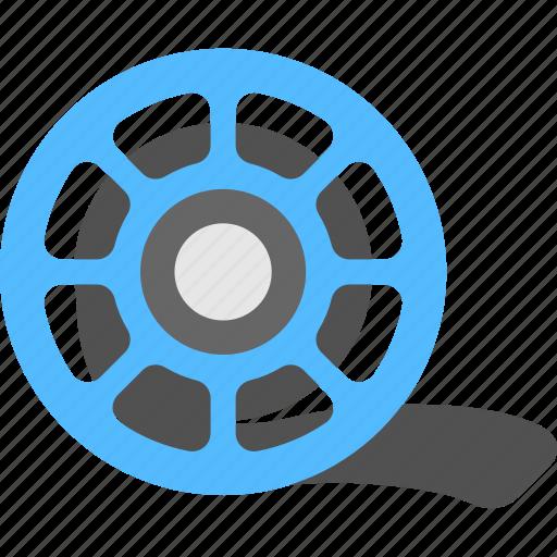 cinematography, movie reel, multimedia, photographic element, video tape icon