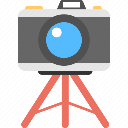 camera tripod, dslr, photographer, photography, professional camera icon