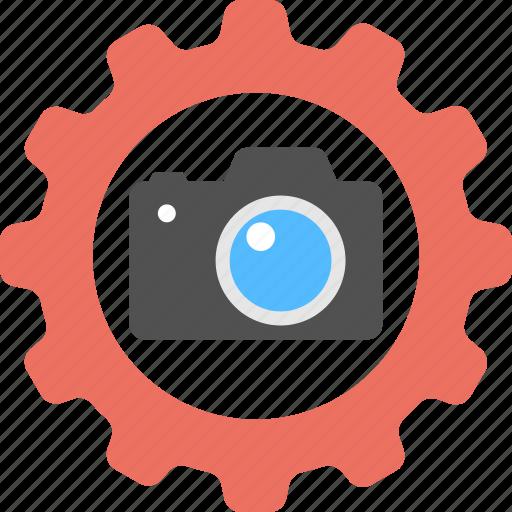 camera configuration, camera setting, digital modification, image development, snapshot adjustment icon