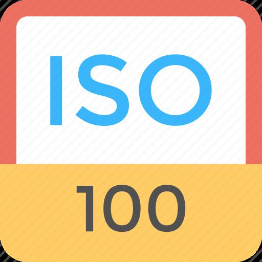 digital photography, image quality, image sensor, iso 100 icon