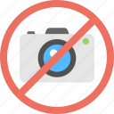 camera not allowed, flash forbidden, no camera, no picture allowed, photo prohibition icon